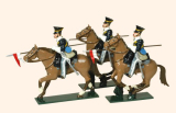 114 Toy Soldiers Set 17th Lancers Painted