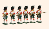 118 Toy Soldiers Set 93rd Highlanders Painted
