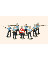 403 Toy Soldiers Set 24th Regiment of Foot Painted