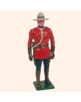 0501 Toy Soldier Set Royal Canadian Mounted Police Painted