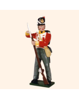 538 Toy Soldiers Set British Line Infantry Private 1815 Painted