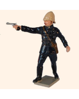 545 Toy Soldiers Set Officer 24th Regiment of Foot Painted