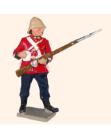 546 Toy Soldier Set Private 24th Regiment of Foot Painted