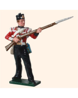 559 Toy Soldier Set British Infantry Private Painted