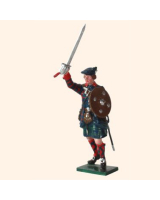 561 Toy Soldier Set Highland Clansman Painted