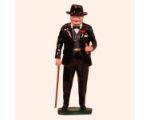 563 Toy Soldier Set Sir Winston Churchill with Walking Stick Painted