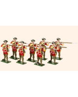 603 Toy Soldiers Set British Infantry Painted