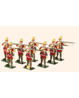 605 Toy Soldiers Set British Grenadiers Painted