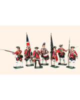 653 Toy Soldiers Set British Infantry Painted