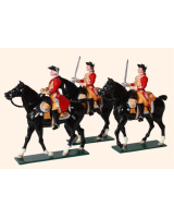 657 Toy Soldiers Set 6th Inniskilling Dragoons British Cavalry Painted