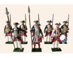 660 Toy Soldiers Set The Garde Francaise Painted