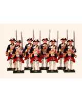 661 Toy Soldiers Set The Garde Francaise Painted