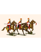 0704 Toy Soldiers Set Dutch Lancers Painted