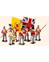 706 Toy Soldiers Set British Line Infantry Painted