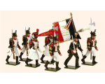 716 Toy Soldiers Set French Line Infantry Painted