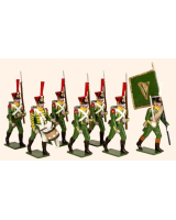 0730 Toy Soldiers Set The Irish Legion Painted
