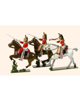 731 Toy Soldiers Set The 1st Royal Dragoons Painted