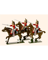 732 Toy Soldiers Set The 1st Royal Dragoons Painted