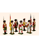 737 Toy Soldiers Set 92nd Gordon Highlanders Painted