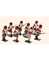 739 Toy Soldiers Set 92nd Gordon Highlanders Painted