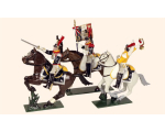 740 Toy Soldiers Set French Cuirassiers Painted
