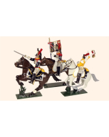 0740 Toy Soldiers Set French Cuirassiers Painted
