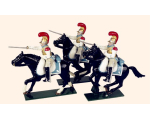 745 Toy Soldiers Set French Carabiniers Painted
