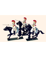 0745 Toy Soldiers Set French Carabiniers Painted