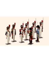749 Toy Soldiers Set Napoleon presenting Painted