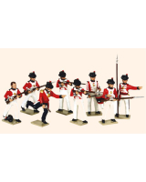 751 Toy Soldiers Set The Royal Marines Painted
