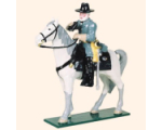 912 Toy Soldiers Set Mounted General Robert E Lee Painted