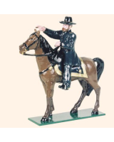 0913 Toy Soldiers Set Mounted General Ulysses S Grant Painted