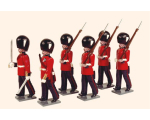 094 Toy Soldiers Set Grenadier Guards 1895 Painted