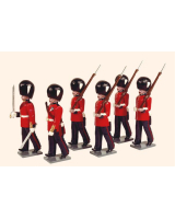 0094 Toy Soldiers Set Grenadier Guards 1895 Painted