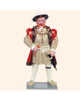 H1 Toy Soldier Set King Henry VIII Painted