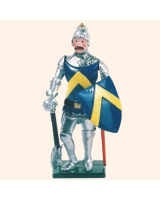 K04 Toy Soldier Set Sir John d Abernon Painted