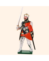 K42 Toy Soldier Set Charles d' Albret Constable of France Painted