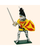 K46 Toy Soldier Set Sir Hugh Hastings Painted