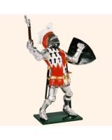 K52 Toy Soldier Set Sir William Fitzwarin Painted