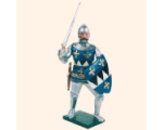 K06 Toy Soldier Set William d' Aldeburgh Painted
