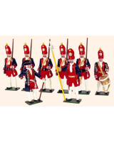 PG1 Toy Soldiers Set Potsdam Giant Grenadiers Painted