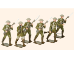 Trad 5 Toy Soldiers Set The Battle of the Somme Painted