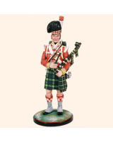 AS90 03 Piper 92nd Foot Gordon Highlanders 1815 Painted