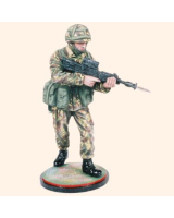 AS90 05 Private Fighting Order Infantry Regiments c.1990 Painted