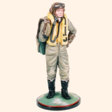 AS90 06 Fighter Pilot Royal Air Force The Battle of Britain 1940 Painted