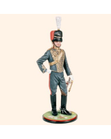 AS90 09 Officer Royal Horse Artillery Kings Troop c.1990 Painted