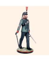 AS90 16 Bugle Major Kings Royal Rifle Corps c.1960 Painted