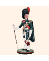 AS90 18 Drum Major Royal Highland Regiment Black Watch c.1990 Painted