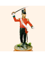 AS90 49 Officer Battalion Company 19th Regiment of Foot 1854 Painted