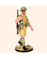 AS90 51 Infantry Private North Africa 1942 Painted